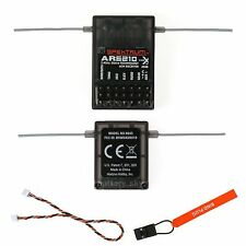 Full Range 6CH AR6210 DSMX Receiver RX support DSM2 For Spektrum transmitter TX