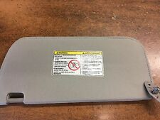 NEW OEM NISSAN 2002-2004 XTERRA / FRONTIER RIGHT SIDE SUNVISOR - GREY IN COLOR