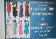 Job Lot /  Ladies Occasion  Dresses  x 20 REDUCED