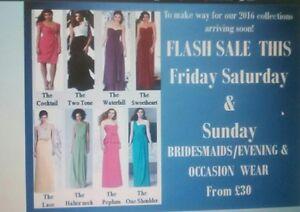 Job Lot /  Ladies Occasion  Dresses  x 30 REDUCED