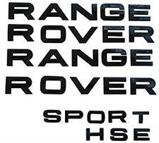 NEW Set 4 Emblem Range Rover SPORT HSE Trunk Tailgate Badge NAMEPLATE 3M Silver