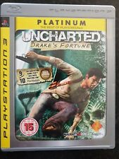 Uncharted: Drake's Fortune -- Platinum (Sony PlayStation 3, 2008)