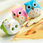 Mini Funny Cute Lovely Owl Pattern Pencil Sharpener School Kid's Favorite Funny