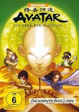 AVATAR - BUCH 2: ERDE, KOMPLETT AMARAY  4 DVD NEU DAVE FILONI/ANTHONY LIOI/+
