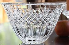 Waterford Crystal Marquis Shelton Centerpiece Large Crystal Bowl (BRAND NEW)