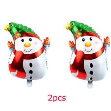 "2PCS Christmas Foil Air Helium Inflatable Balloons Christmas Party Decor 25""X18"""