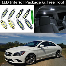 18PCS Canbus LED Interior Lights Package kit Fit 2014 Mercedes Benz CLA-Class J1