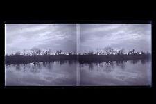 France Paysage Plaque de verre stéréo NEGATIF vers 1925