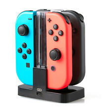 SKGAMES Joy-Con Controller Ladestation Ladegerät Charger für Nintendo Switch
