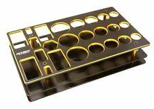 Integy C27286GOLD Universal Workbench Organizer 195x117x40mm Workstation Tray