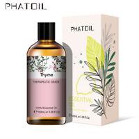 PHATOIL 100ML Thym 100% Pure Aromathérapie Huiles Essentielles Bio Avec Boite