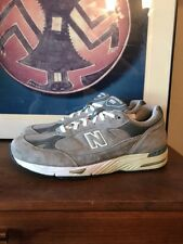 New Balance 991 M991GL Gray Running Shoes Mens 14 2E Wide Sneakers USA
