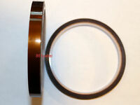 10mm X 100Ft Gold High Temperature Heat Resistant Kapton Tape Polyimide BGA