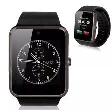 Nuevo Y En Caja Última Pantalla Táctil Reloj Inteligente Fitness Regalo conectar el Apple Android Negro