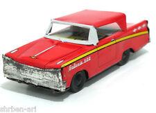 "Vintage MANSEI HAJI Ford Galaxie 500 Car Friction Toy Metal Tin 5"" Japan 60's"