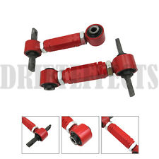 G1 RED CIVIC CRX DEL SOL INTEGRA EF EG EK DA DC2 REAR ADJUSTABLE CAMBER ARM KIT