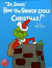 How The Grinch Stole Christmas Sericel Cel Rare Animation Cell Dr Suess
