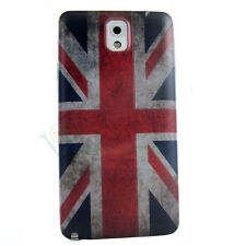 Cover copri batteria pelle Bandiera inglese UK per Samsung Galaxy Note 3 N9005