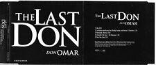 Don Omar The Last Don 5 Track Promo Album Sampler CD