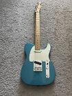 Fender Standard Telecaster 2015 MIM Lake Placid Blue Maple Neck Modified Guitar