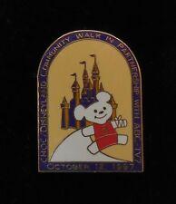Disney Pin Dlr Choc Disneyland Abc Community Walk 1997 Pin