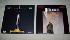 Highlander LaserDisc Lot - Original and 10th Anny Deluxe Directors Cut 1986-1996