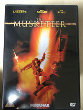 Catherine Deneuve Tim Roth MUSKETEER ~ 2001 Swashbuckle Epic UK DVD