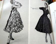 "Rare Vtg 1950s Sewing Book ""Dress"" Bess Oerke 1957"