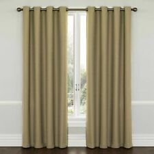 Eclipse - Thermaweave Blackout Curtain Panel Latte 52 in x 84 in