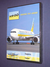 JUST PLANES COCKPIT VIDEO DVD        AIR DO   767-300 ER        new & sealed