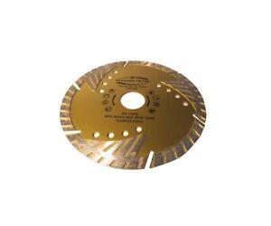 125 mm Diamond Cutting Blade discs Concrete Stone General Purpose Turbo MTT125