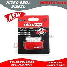 Nitro OBD 2 Centralina aggiuntiva Modulo Auto Diesel Diagnostic 2015 UNIVERSALE