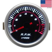 2'' 52mm Car Digital LED Tachometer Tacho Tester Gauge Meter RPM Universal US