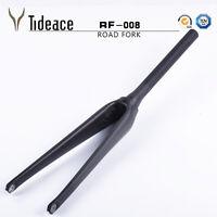 700C UD 28.6mm 1-1/2'' Tapered Carbon Road Racing Bike Front Forks MINT OEM