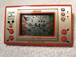 Nintendo Game and Watch. MICKEY MOUSE!!!