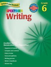 Spectrum: Writing, Grade 6 by Spectrum Staff and Carson-Dellosa Publishing Staff