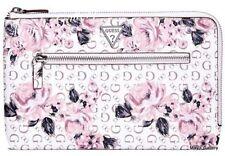 Guess Clutch  Wallet CheckBook Holder Handbag Purse Hand Bag Coin Zip Wristlet