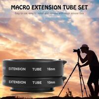 Autofocus AF Macro Extension Tube Set 10mm 16mm for Sony NEX E-Mount Camera Lens