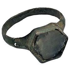 Rare Ancient Roman Empire Ring W/ Stone - Artifact - Ca. 100Bc - 350Ad Antiquity