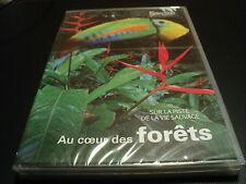 """DVD NEUF """"AU COEUR DES FORETS - SUR LA PISTE DE LA VIE SAUVAGE"""" documentaire"""