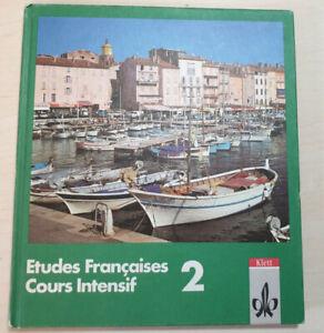Etudes Francaises Course Intensif 2 Lehrbuch Französisch Gymnasium