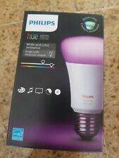 Philips Hue White and Color Ambiance 3rd Generation A19 Bulb 464487