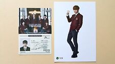 BTS Bangtan Boys SK Telecom Official  Post Card - Group  & Stickers