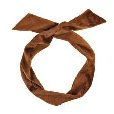 Accessoires de coiffure bandeaux marrons pour femme