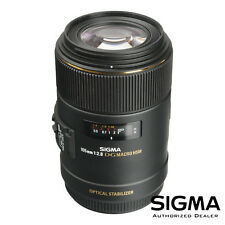 Sigma 105mm f/2.8 F2.8 EX DG OS HSM Macro Lens for Canon *OPEN BOX* *US MODEL*