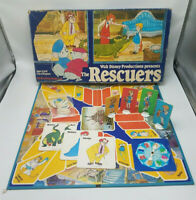 Walt Disney's The Rescuers Board Game Parker Brothers 1977 Animated NOT COMPLETE