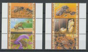 [P180] Belgium 1997 BEES good set very fine MNH stamps