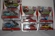 DISNEY PIXAR CARS LOT 6 RSN VEHICLE TODD PIZZA PLANET TIMOTHY TWOSTROKE CORA MIP