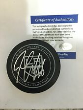 SIGNED OFFICIAL GAME PUCK LOS ANGELES KINGS JAKE MUZZIN STANLEY CUP PLAYOFFS
