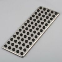 Car Non Slip Foot Rest Plate Drill Footrest Dead Pedal Cover For Mercedes Benz